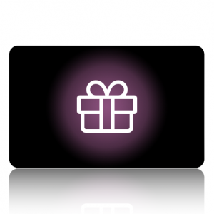 a gift card with a present symbol on for derby eco store