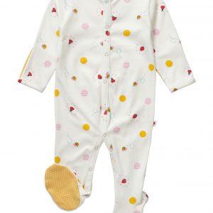ladybird spot sleepsuit