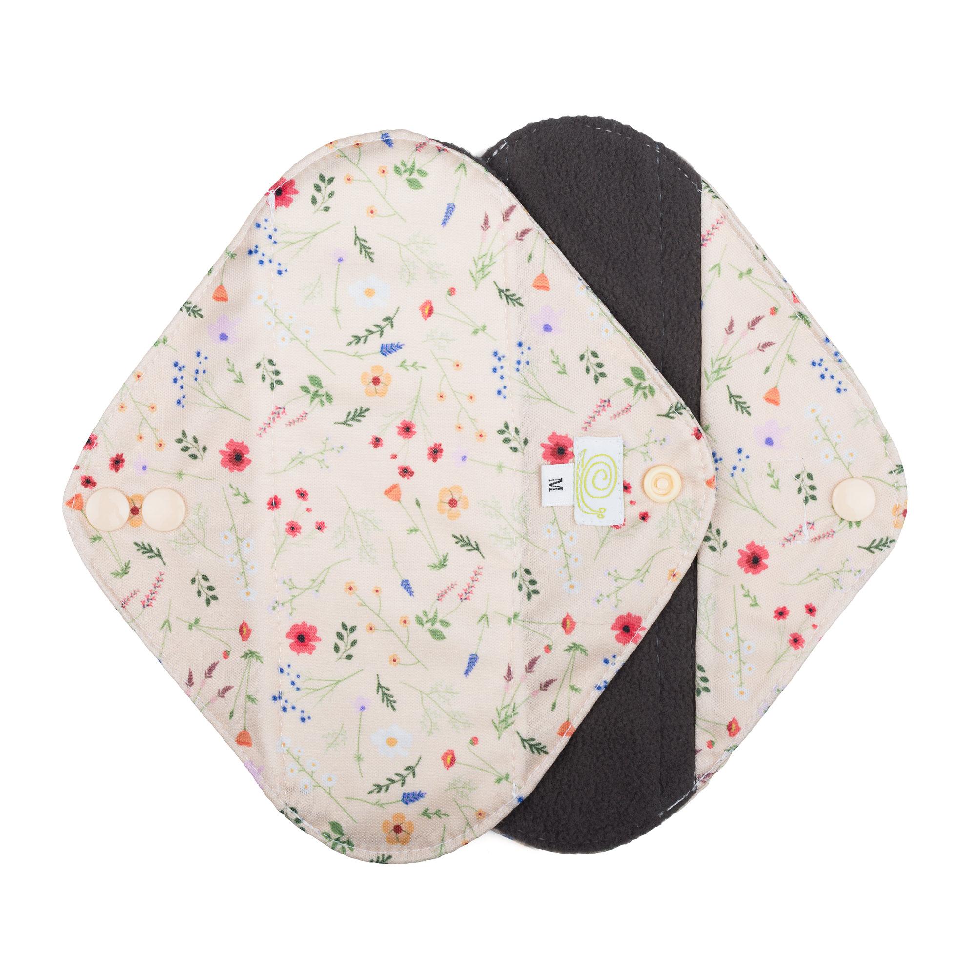 Baba+Boo Wildflowers Medium Sanitary Pads