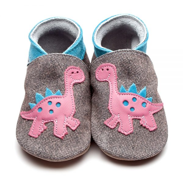 dinosaur-denim-pink-leather-inchblue-baby-shoe