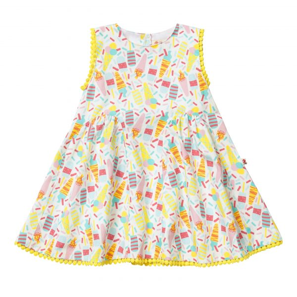ICE CREAM BABY DRESS