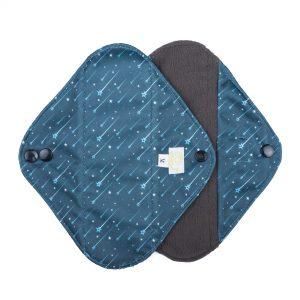 shooting stars pattern medium cloth sanitary pads