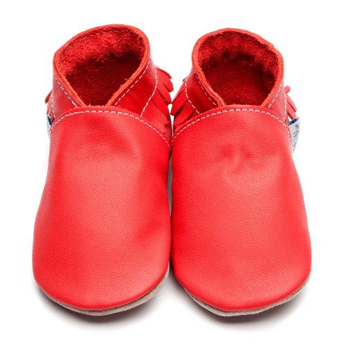 moccasin-plain-red-leather-inchblue-baby-shoe
